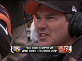Video - Mike Zimmer frontrunner in Minnesota Vikings head coach hunt