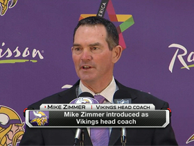 Video - Mike Zimmer introduced as Minnesota Vikings coach