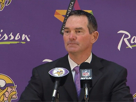 Video - Minnesota Vikings coach Mike Zimmer will talk to Bill Parcells