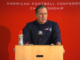 Video - New England Patriots postgame press conference
