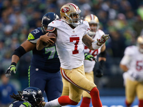 Video - NFC Championship Can't-Miss Play: San Francisco 49ers Colin Kaepernick 58-yard scramble