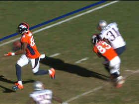 Video - New England Patriots unhappy with Denver Broncos wide receiver Wes Welker's hit on cornerback Aqib Talib