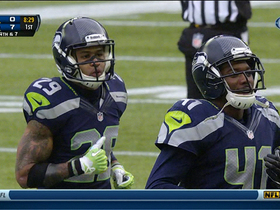 Seahawks force incompletion on deep pass attempt