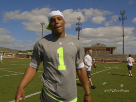 Video - NFL Fan Pass: Carolina Panthers quarterback Cam Newton mic'd up at Pro Bowl practice