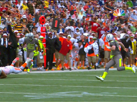 Video - Cincinnatti Bengals linebacker Vontaze Burfict diving interception