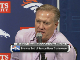 Video - Denver Broncos executive VP of football operations John Elway on Super Bowl loss: 'The taste will never leave'