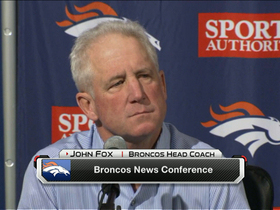 Video - Denver Broncos coach John Fox: Disappointed but it was 'still a great' season