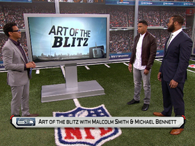 Video - Art of the Blitz: Seattle Seahawks Malcolm Smith and Michael Bennett