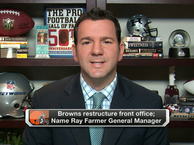 Video - NFL Media Insider Ian Rapoport: Ray Farmer not present for hire of Pettine