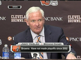 Video - Cleveland Browns owner Jimmy Haslam defends front office changes