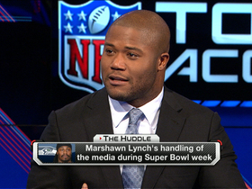 Video - Seattle Seahawks fullback Michael Robinson: Marshawn Lynch does his talking on the field