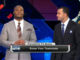 Video - Know your teammate: Seattle Seahawks fullback Michael Robinson and wide receiver Jermaine Kearse