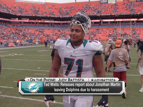 Video - Judy Battista: Miami Dolphins offensive lineman Jonathan Martin not the only victim