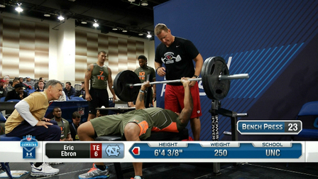 Best Of Tight Ends Bench Press Nfl Videos