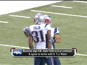 Video - McGinest: Aqib Talib 'wanted to be a New England Patriot'