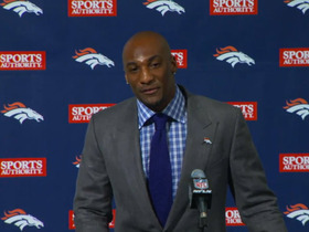 Video - Denver Broncos introduce cornerback Aqib Talib