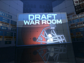 Video - Inside the Cleveland Browns draft room