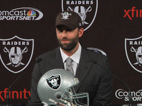 Video - Matt Schaub excited to be an Oakland Raider