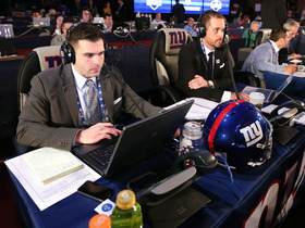 Video - Inside the New York Giants draft room