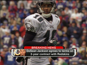 Video - DeSean Jackson, Washington Redskins agree to terms
