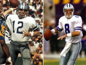 Video - Best Dallas Cowboys QB ever: Roger Staubach or Troy Aikman?