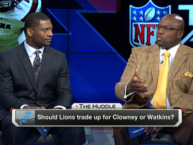 Video - Should the Detroit Lions trade up to draft defensive end Jadeveon Clowney or wide receiver Sammy Watkins?