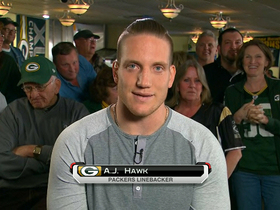 Video - Green Bay Packers linebacker A.J. Hawk: We are excited to open th