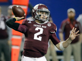Video - Could Texas A&M quarterback Johnny Manziel end up in Dallas?