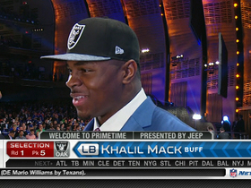 Video - Khalil Mack: 'This is a dream come true'