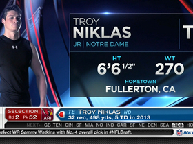 Video - Arizona Cardinals select Troy Niklas with No. 52 pick