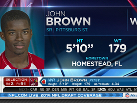 Video - Arizona Cardinals select John Brown with No. 91 pick