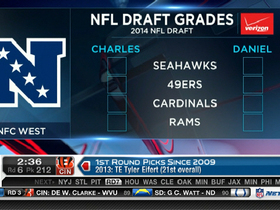 Video - NFC West team-by-team draft review