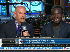 Video - New York Giants cornerback Prince Amukamara: Odell Beckham Jr. 'is a great pick'