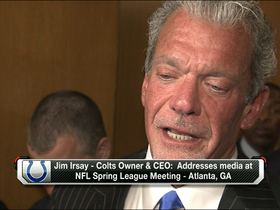 Video - Colts owner Jim Irsay not taking anything for granted
