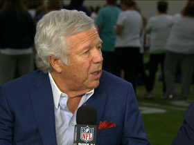 Video - New England Patriots owner Robert Kraft remembers Malcolm Glazer