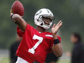 Video - New York Jets quarterback Michael Vick on Geno Smith: 'We're going to push each other'