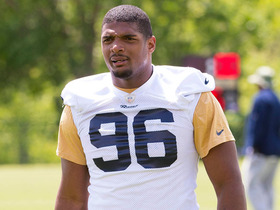 Video - St. Louis Rams defensive end Michael Sam: 'They treat me like a football player''