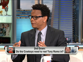 Video - Is Tony Romo at risk by being on field at OTAs?