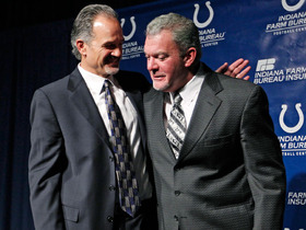 Video - Indianapolis Colts head coach Chuck Pagano on owner Jim Irsay: 'We're a family'