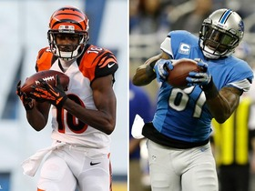 Video - Will Cincinnati Bengals wide receiver A.J. Green or Detroit Lions wide receiver Calvin Johnson be ranked higher on 'Top 100'?