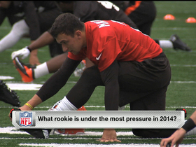 Video - Which rookie is under most pressure in 2014?