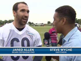 Video - Chicago Bears defensive end Jared Allen excited to switch sides