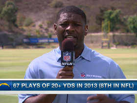 Video - NFL Media's LaDainian Tomlinson confident in San Diego Chargers running back Ryan Mathews