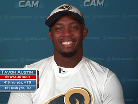 "Video - St. Louis Rams wide receiver Tavon Austin joins ""NFL AM"""