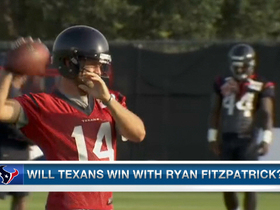 Video - Is Ryan Fitzpatrick the answer at quarterback for the Houston Texans?
