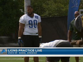 Video - Detroit Lions Live Look-In