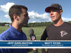 Video - Atlanta Falcons quarterback Matt Ryan: I am happy to have WR duo back