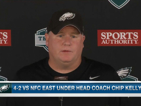 Video - Philadelphia Eagles head coach Chip Kelly not worried about outside expectaions of rookies