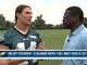Watch: Riley Cooper goes 1-on-1 with Michael Irvin