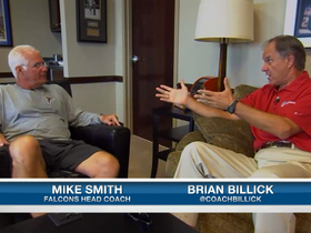 Video - Brian Billick with Atlanta Falcons head coach Mike Smith discussing Hard Knocks